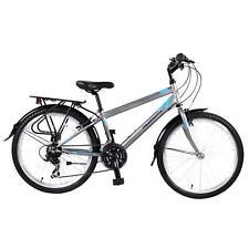 Muddyfox Voyager 24 Wheels Boys Road Bike 18 Speed Colour Grey/Blue