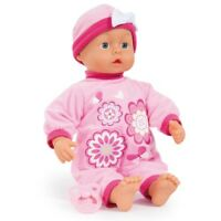 Bayer 93863AB Puppe First Words Baby in rosa Flower