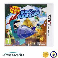 Phineas & Ferb : Quest for Cool Stuff (Nintendo 3DS) **GREAT CONDITION**