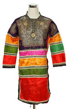 antik Orient Banjara Choli Tracht kleid silk Embroidery Dress indien Pakistan 16