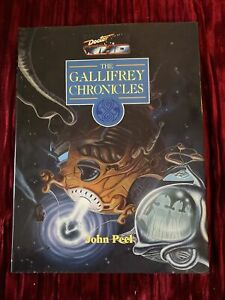 Doctor Who The Gallifrey Chronicles By John Peel Hardcover