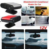 1PC Portable Car DC 12V Mini Practical Windshield Air Conditioner Heater For Car