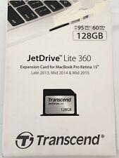 "Transcend JetDrive Lite 360 128GB SD Card Upgrade for 15"" Macbook Retina"