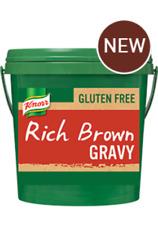 KNORR RICH BROWN GRAVY MIX GLUTEN-FREE  2KG - FREE POST