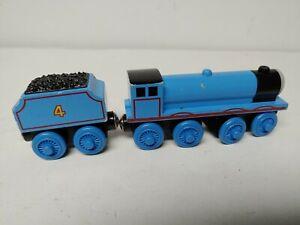 GORDON & TENDER Thomas & Friends Wooden Railway Train Engine  No Stripes Toy