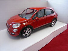 Genuine Fiat 500X Mondo Motors Red 1/43 Scale Diecast Model Car  P/N 50907714