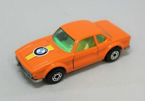 """Matchbox Lesney Superfast No45 BMW 3.0 CSL in """" LIGHTER ORANGE with MID GLASS """""""