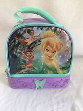 Disney Fairies Fairy Tinkerbell ZAK insulated lunch box tote zippered ages 3+