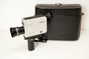 Braun Nizo  S8L Super 8 mm Camera, VARIOGON 1,8/8-40mm Tested and Working