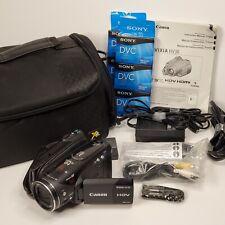 New ListingCanon Vixia Hv30 Mini Dv Hdv Camcorder Camera Bundle