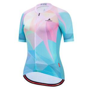 Women's Cycling Jersey Clothing Bicycle Sportswear Short Sleeve Bike Shirt J92