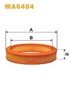Wix WA6404 Air Filter Round Replaces C29531 CA4877 LX294 Ford Sierra granada etc