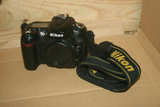 Nikon D D90 12.3MP Digital SLR Camera Body Only - Working - Cosmetic Damage NL