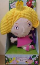 Ben & Holly's Little Kingdom ~ Talking Princess Holly ~ 18cm Tall Plush Soft Toy