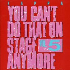 Frank Zappa - You Cant Do That On Stage Anymore Vol 5 [CD]
