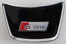 Audi A6 4G original S-Line Lenkradclip C7 Logo Clip Schriftzug Emblem Lenkrad A7