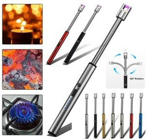 USB BBQ Candle Lighters Electronic Lighters Windproof Plasma ARC Recargeable UK