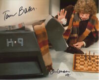 Doctor Who Photo Signed In Person By Tom Baker and John Leeson - B688