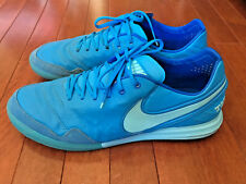 Men Nike Tiempo X Proximo Indoor Soccer shoes Size 10.5