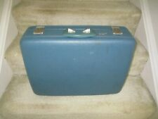 Vintage 1960's TravelJoy Suitcase- Light Blue, one owner,very clean