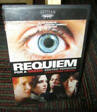 Requiem For A Dream - Edited Unrated Version Dvd Movie, Ellen Burstyn, Fs & Ws