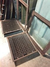 G 77 Two Available Antique Extra-Large Floor Or Wall  Heating Grate 27 X 31
