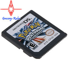 DS Game Cards Pokemon Platinum Gift For Nintendo 3DS DSI NDSi NDS Lite