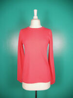 J. Crew Factory Hot Pink Everyday 100% Cashmere Crew Neck Sweater S Nwt