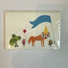 IKEA Overlagsen Birthday Greeting Cards Set of 4 Cards NEW Unopened