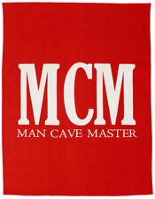 NEW Man Cave Master MCM Bar BBQ Kitchen Red Tea Towel