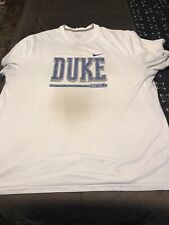 NIKE DUKE Blue Devils Football Dri-Fit Short Sleeve sz 3XL