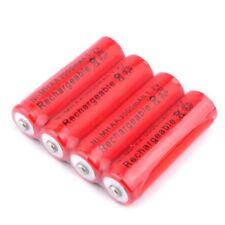 4 Pile Ricaricabili AA Ni-Mh 3000mAh 1,2V Universali Pila Batteria Stilo