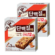 [Orion] Dr. You Protein Bar Peanut Almond Bean Korean Food Snack 50 g × 6 ea