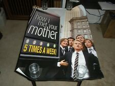 How I Met Your Mother advertising promo poster 40x27