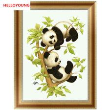 DIY 5D Diamond Embroider Diamond Painting Cross Stitch Mosaic Home Decor Panda