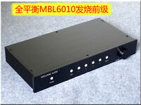Fully Balanced/Single-Ended Preamp Audio XLR/RCA Preamplifier MBL6010 Circuit