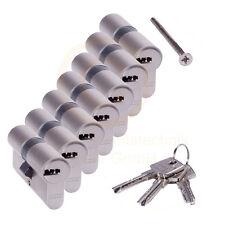 7 gleichschließende ABUS EC550 Profilzylinder Schließzylinder 3 Schlüssel N+G