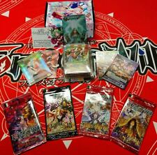 FOW FORCE OF WILL Grimm Bundle 2 Decks + 4 Packs + Promo Cards ITA