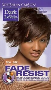 DARK&LOVELY Fade Resist Rich Conditioning Hair Color #373 Brown Sable