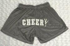 Omada Spartan Size L sportswear shorts Black White Gingham Cheer Cheerleader