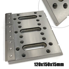 Wire Edm Fixture Board Stainless Jig Device for Clamping + Leveling 12x15x1.5cm