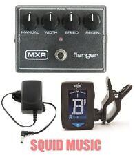 MXR Flanger Reissue Effects Pedal Metallic Grey M-117R ( FREE TUNER ) M117R