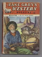 Zane Grey's Western Mag May 1949 Pulp Frank Gruber Norman A. Fox Theodore Sturge