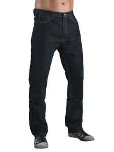 Motorcycle Jeans TROUSERS - Short Leg - Black Hornee SA-M1 Relax Fit Bootcut