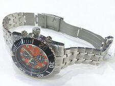 Sartego Ocean Master Chronograph 200 meter watch (orange face) SPC55
