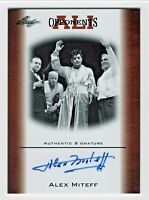 2011 Leaf Muhammad Ali Opponents Autograph OAU1 Alex Miteff October 7 1961