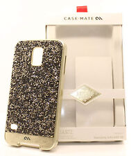 Case Mate Brilliance Crystal Hard Case Cover for Samsung Galaxy s5 Champagne NEW