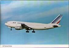 (wjf) Airplane Postcard: Air France, Airbus