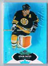 2014-15 FLEER SHOWCASE LIMITED PATCH ADAM OATES PATCH 2 COLORS 14/18 BOSTON