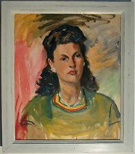 Wilhelm KAUFMANN (1895-1975) Frauen Portrait - Expressiv.